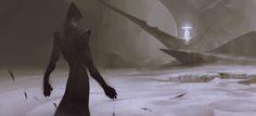 Final encounter, Hui Zou on ArtStation at https://www.artstation.com/artwork/bDn0m