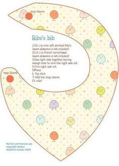 DYI Baby Bib (flickr.com/3947/14995466083_05c259abff_b.jpg)