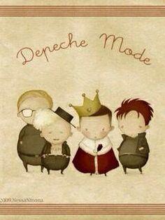† Depeche Mode Cartoon †