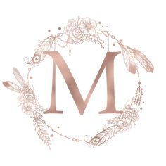 Letter M Rose Gold Pink Initial Monogram iPhone Skin by naturemagick Monogram Stickers, Monogram Frame, Monogram Initials, Rose Gold Pink, Wallpaper Iphone Cute, Metal Art, Framed Art Prints, Creations, Lettering