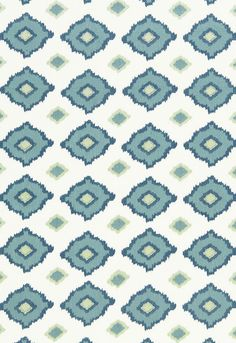 Fabric | Sikar Embroidery in Sky | Schumacher spare bedroom color inspiration