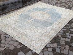 Oushak rug 121 x 88 inches