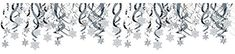 Amscan Christmas Party Hanging Snowflakes and Swirl Pack of 30 WhiteSilver One Size * You can get additional details at the image link. (Note:Amazon affiliate link)