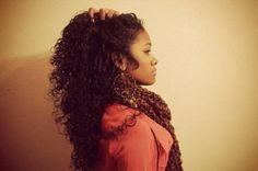 so much here to love. To learn how to grow your hair longer click here - http://blackhair.cc/1jSY2ux