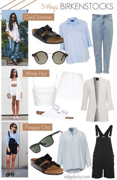 UGLY IS THE NEW COOL: 3 WAYS TO ROCK BIRKENSTOCKS THIS SUMMER