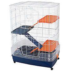 Four Story Small Pet & Ferret Cage Chinchilla Cage, Ferret Cage, Pet Ferret, Pet Cage, Hamsters As Pets, Ferrets, Small Animal Cage, Small Animals, Farm Animals