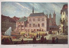 Townhall,Goettingen,Germany.  Around 1845