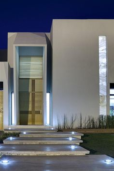 World of architecture: 30 modern entrance design ideas for your home modern exterior, exterior Modern Entrance, Entrance Design, House Entrance, Modern Entry, Modern Loft, Main Entrance, Entrance Doors, Architecture Design, Residential Architecture