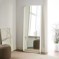 Contemporary Floor Mirrors and Standing Mirrors | west elm | knick ...