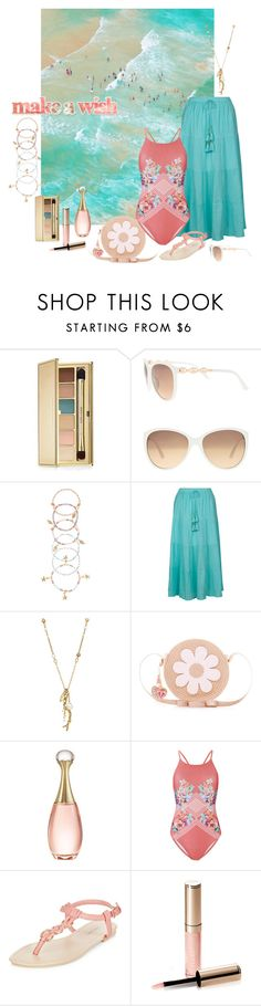 """Make A Wish"" by alara-cary ❤ liked on Polyvore featuring Estée Lauder, Lane Bryant, Accessorize, Monsoon, Chan Luu, Christian Dior, MINKPINK, New Look and By Terry"