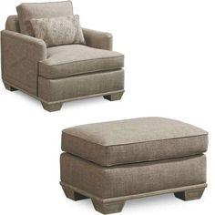 ART Furniture - Arch Salvage Jardin Matching Chair and Ottoman - 533503-5023AA-533504-5023AA