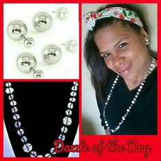 ON SALE• Silver tone little flowers necklace Adorable silver flower necklace. Dress it up or down. Measures about 18 inches. Dazzle Her Now Jewelry Necklaces