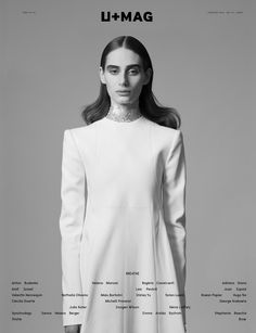 COVER PREVIEW > Noam Frost @ Next photographed by Amit Israeli, styled by U+MAG fashion editor Igi Ayedun, wearing Lea Peckré