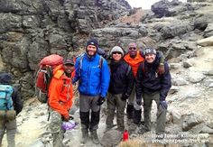 Lava Tower - #Kilimanjaro .  Time to explore on day three of the Machame route with www.privateexpeditions.com/blog