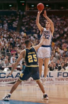 Christian Laettner - Duke Basketball. I was in love with him in the 90's