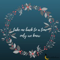 Take me back to a time only we knew -The Chainsmokers (Roses) Take Me Back Quotes, Quote Of The Day, Song Quotes, Song Lyrics, Chainsmokers Lyrics, World Music Day, Sing Out, Music Video Song, Maybe One Day