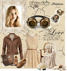 """""""Time Traveller Outfit!"""" by mar-haps on Polyvore"""