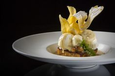 Bananas Foster French Toast Recipe, courtesy of Chef Scott Boswell