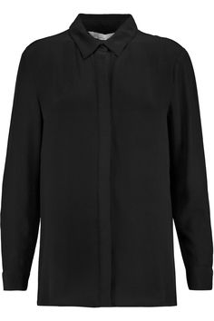 W118 BY WALTER BAKER STACEY SILK CREPE DE CHINE SHIRT €141,57 http://www.theoutnet.com/product/669323