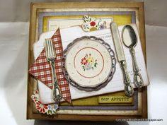 Creations by Patti: Farm House Recipe Mini