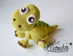 Krawka: Arlo the Apatosaurus from Pixar's The Good Dinosaur Pattern by Krawka