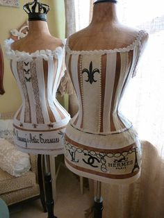 This mannequin is perfect accent to your Boudoir. Very lady like.  Vintage Inspired Dress Form Mannequin Wasp Waist  Paris Fashion Designer Handbag Love Bridal Gift Free Ship & Layaway Available on Etsy, $389.00