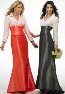 long sleeve bridesmaid dresses