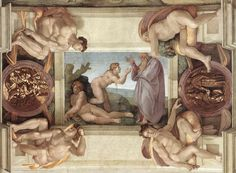 Google Image Result for http://uploads8.wikipaintings.org/images/michelangelo/sistine-chapel-ceiling-creation-of-eve-1510.jpg