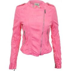 pink leather jackets - Google Search