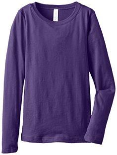 Clementine Big Girls' Everyday Long Sleeve Tee, Purple Ru... https://www.amazon.com/dp/B00L5E2FTE/ref=cm_sw_r_pi_dp_x_BxfZybPQW98WA