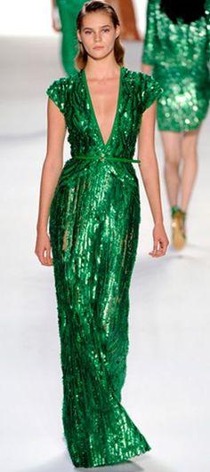 #sequins forever #tarte talk elie saab spring 2012 rtw