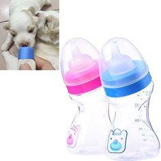 La favoritaTM Pet Dog Cat Puppy Baby Animal Feeding Plastic Bottle Milk with Premium Silicone Nipple - http://www.thepuppy.org/la-favoritatm-pet-dog-cat-puppy-baby-animal-feeding-plastic-bottle-milk-with-premium-silicone-nipple/