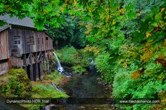 Grist Mill HDR photo