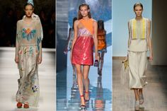 <p>A key aspect of the new haute hippie vibe, macramé, was so prevalent it deserves its own mention. Don't let its homespun roots dissuade you: Designers found novel ways of weaving and winding to create innovate effects that were opulent and handcrafted.</p> <p><strong>Seen in:</strong> Punchy accents at Missoni, high-tech hybrids at Versace, and subtle trims on clean tailoring at Salvatore Ferragamo.</p>
