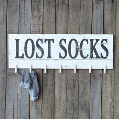 Edith Lost Socks Wall Rack & Reviews | Joss & Main