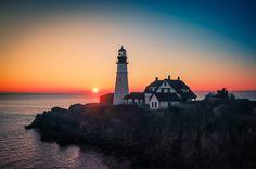 Light house by Lester Blackmon, via 500px