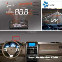 (65.00$)  Watch here - http://ai011.worlditems.win/all/product.php?id=32790792048 - Information Projector Screen For Dodge Dakota Grand Caravan Journey - Safe Driving Refkecting Windshield Car HUD Head Up Display