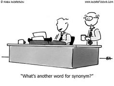 what's anther word for synonym?