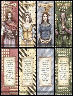 Hogwart - założyciele.