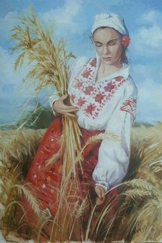 Ukrainian Art, Art Costume, Character Portraits, Advertising Poster, Beautiful Paintings, Body Painting, Art History, Folk Art, Fairy Tales