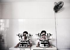 UNIO Hospital, strabism treatment, Hanoi, Vietnam, 2006 - by Stefano De Luigi (1964), Italian