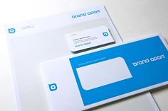 Brand Apart. Stationery by Ferreira Design Company.