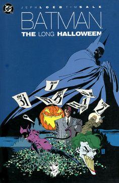 Tim Sale's Batman: The Long Halloween.