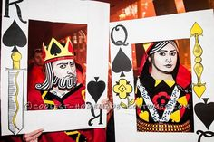 A Royal Pair: King of Spades and the Black Maria Couple Costume... 2014 Halloween Costume Contest