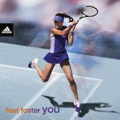 b61d64f6b1c5 Girls Tennis Clothes · Olvídate de todo cuando entres a la cancha. #adidas # Tennis #Ivanovic Tennis