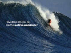 How deep will you go? #bodysurfing #getpitted