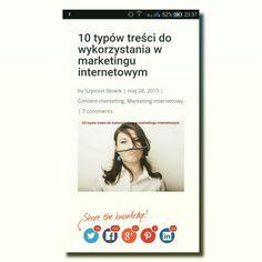 http://takaoto.pro/10-typow-tresci-content-marketing/ Jakieś pytanie? #contentmarketing