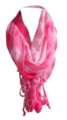 Coral Marble Scarf