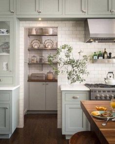 123 cozy and chic farmhouse kitchen cabinets ideas (46)