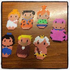 The Flintstones hama beads by dorro85